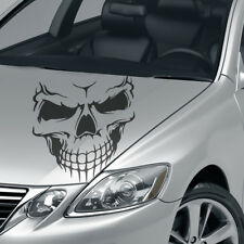Aufkleber Düsterer Totenkopf Tribal Blut Skull Dekor Auto Sticker Tuning #1323