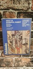 AUTOBOOKS proprietari Workshop Manuale VW GOLF LS SCIROCCO Rabbit tblo 1974-76 882