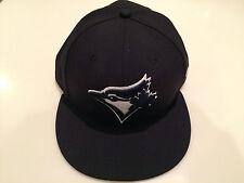 Toronto Blue Jays Navy Custom New Era Cap Hat 7 1/4 59fifty Fitted MLB Baseball