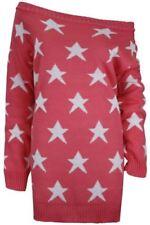 Vestiti da donna rosa acrilico