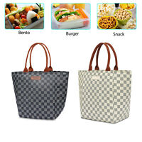 Insulated Lunch Bag Ice Cooler Bag Thermal Lunch Box Tote for Women Girls Office