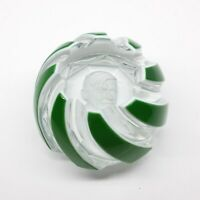 Baccarat Paperweight WILL ROGERS Green Sulfide Crystal Rare Limited Edition Box