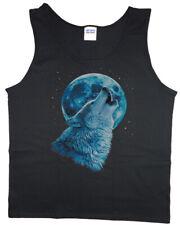 On Sale: LARGE Men's Tank top - Wolf Shirt Mens Clothing Tanks Sleeveless Tee