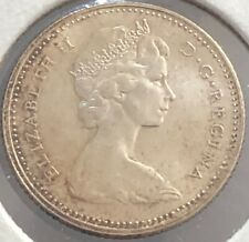 1965 ~ CANADA ~ 10 CENTS ~ ELIZABETH II ~ 0.800 SILVER ~ MS63 Condition