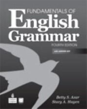 Fundamentals of English Grammar with Audio CDs and Answer Key (4th Edition)