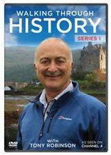 Walking Through History: Series 1 [DVD], Excellent DVD, Tony Robinson,