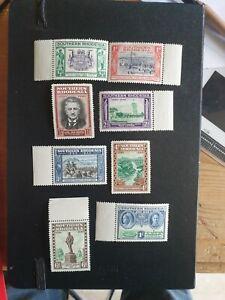 Southern Rhodesia 1940 BSAC Golden Jubilee Set MNH SG53-60