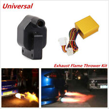 Cool Universal Car Exhaust Flame Thrower Kit Fire Burner Afterburn Accessories