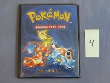 Pokemon Trading Card Game Collector's Album Card Binder Booklet 1999