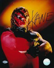Kane Wwe Signed 8x10 Photo Autograph Auto Mounted Memories