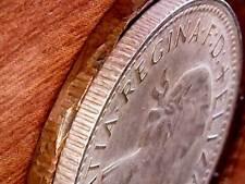 1964 Australia 1d One Penny ** ERROR CRENULATED EDGE ** #1064 =SUPER RARE=