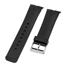 Nautica Men's N13530G | A13530G NSR 01 CHRONO Black Original Watch Band | Strap
