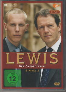 LEWIS - Der Oxford Krimi Staffel 2 - herrliche 4er DVD Box