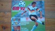 Top Duplo Hanuta  Fussball EM 92 SAMMELALBUM  EUROPAMEISTERSCHAFT 1992 KOMPLETT