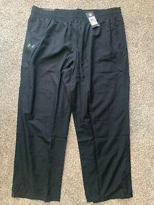 Under Armour Men's UA Vital Warm-Up Pants Black 1239481 Size 4XL