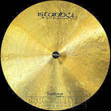 "Istanbul Agop Traditional Dark Ride Cymbal 26"" 2974 grams"