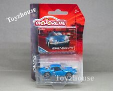 Majorette Vintage Renault ALpine A110 Diecast 1/61 Model Car New 241A-2