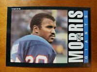 1985 Topps #120 Joe Morris NM-MINT ROOKIE New York Giants / Syracuse