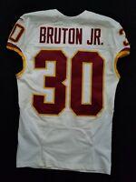 #30 David Bruton of Washington Redskins NFL Game Issued Player Worn Jersey