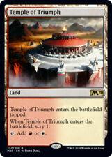 MTG Rare - Temple of Triumph x1 NM - Core Set M20