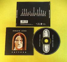 CD RENATO ZERO Cattura 2003 Ita TATTICA TAT5133709 9 no lp mc dvd (CI54)