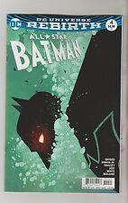 DC COMICS ALL STAR BATMAN #4 JANUARY 2017 REBIRTH SHALVEY VARIANT 1ST PRINT NM