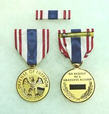Department of Defense, Defense of Freedom Medal, Civilian Purple Heart, set of 2