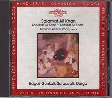 Salamat Ali Khan - Ragas Gunkali, Saraswati, Durga - CD (Nimbus NI5307 U.K.)