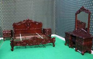 BESPOKE 6 pieces Rococo Bedroom Set AS SEEN ONTHE PICTURES
