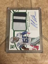 Anthony Hitchens Auto 2014 National Treasures Rookie Patch Auto Green  /59