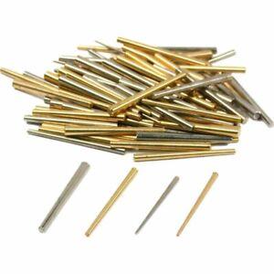 100 Clock Taper Pins Movement Repair Holder Parts Tool - Brass