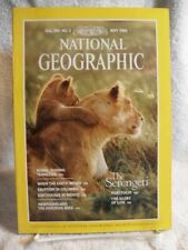 RARE NATIONAL GEOGRAPHIC MAGAZINE MAY 1986 SERENGENTI EARTHQUAKES TENNESSEE