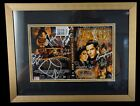 CAST SIGNED FARSCAPE DVD COVER Nicely Golden Framed & Matted 12 AUTOGRAPHS