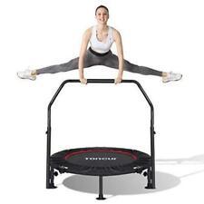 Toncur Fitness Trampolin Ø ca 102cm Faltbar Rebounder Haltegriff  bis 150kg