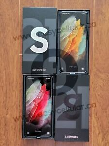 Brand New unlocked Samsung Galaxy S21 Ultra 5G Dual SIM 512GB Snapdragon