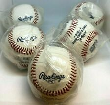 Rawlings Official MINOR LEAGUE Baseballs  - Lot of 5