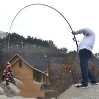 Fishing Rod Ultralight Carbon Fiber Durable Telescopic Sea Spinning Hard Pole US