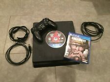Sony PlayStation 4 PS4 Slim 1TB Console (CUH-2115b) w/ 2 games