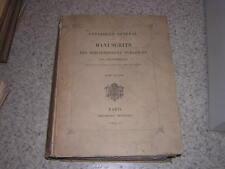 1855.catalogue des manuscrits de la bibliothèque de Troyes
