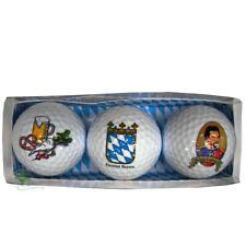 Golfbälle 3er Set, bayrisch, König Ludwig
