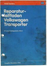 VW Bus T3 - Reparaturleitfaden - 4 Gang Getriebe 091/1 - ab 10/82