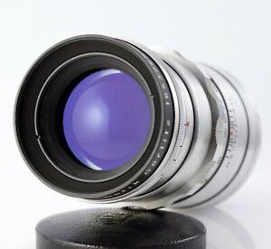 M42 lens MEYER-OPTIK GÖRLITZ TELEMEGOR 5.5/180 Red V * FINE BOKEH 180mm f/5.5
