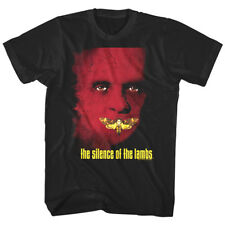 Silence of the Lambs Movie Poster Men's T Shirt Moth Hannibal Lecter Horror