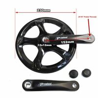 Prowheel Bicycles Crank Single-Speed Road Bicycle Forged Crankset 152mm 52T