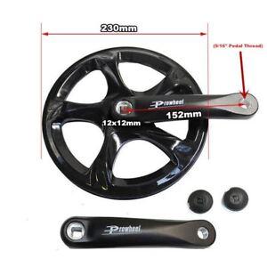 MTB Bicycle Crankset 52T 152mm Single Speed Crank Chain Wheel Crankset