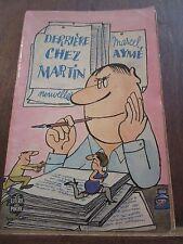 Marcel Aymé: Derrière chez Martin, nouvelles/ Le Livre de Poche