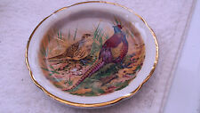 PIN TRAY SHOWING A PAIR OF PHEASANTS  DESIGNED FOR F C EMERY STOKE ON TRENT
