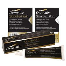DERMATIX SILICONE SHEET FABRIC O CLEAR 1 UNIDAD SCAR SCARS REDUCTION MEPIFORM
