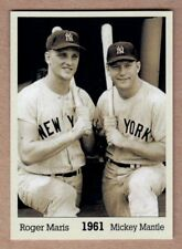 Roger Maris & Mickey Mantle '61, Monarch Corona Immortals #3, nm-mint cond.