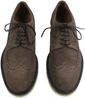 LORO PIANA WENGHE TOWNEY WALK MEN'S SUEDE SHOES -MADE IN ITALY $1,325 Retail